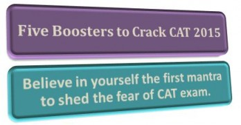 Five Boosters To Crack CAT 2016
