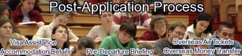 post application process
