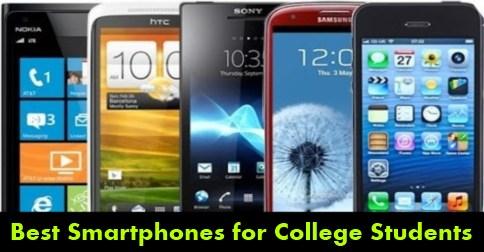 Best Smartphones for College Students 2015