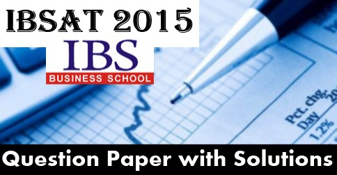 Ibsat Previous Year Question Papers With Solutions Pdf