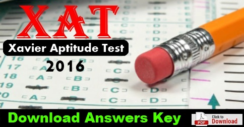XAT 2015 Question Paper with Solutions