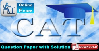 CAT 2016 Question Papers