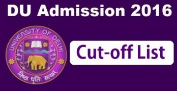 DU First Cut off 2016