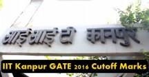 IIT Kanpur GATE Cutoff 2016