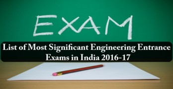 Top Engineering Entrance Exam in India
