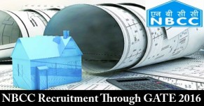 NBCC Recruitment through GATE 2016