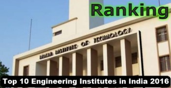 Top 10 Engineering Institutes in India 2016