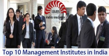 Top 10 Management institutes in India