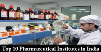 Top 10 Pharmaceutical Institutes in India