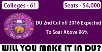 DU Second Cutoff 2016