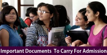 Documents Required At The Time of DU Online Registration