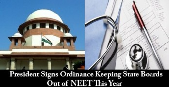 Ordinance Deferring Implementation of NEET