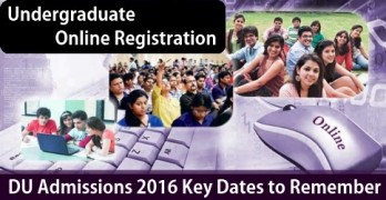 DU Admission Dates to Remember