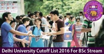 DU Cutoff 2016 for Science