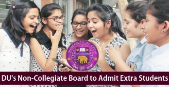 DU's Non-Collegiate Board to Admit 5,700 Extra Students