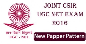JCSIR UGC NET 2016 Paper Pattern
