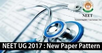 NEET UG 2017 Paper Pattern