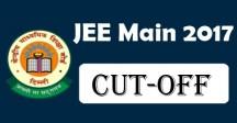 JEE Main 2017 Cutoff