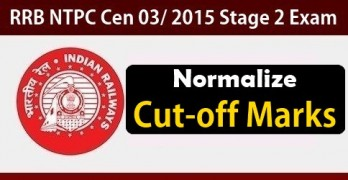 RRB NTPC 2nd Stage Cutoff