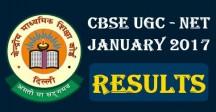 CBSE UGC NET Jan 2017 Results