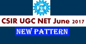 CSIR UGC NET June 2017 Paper Pattern