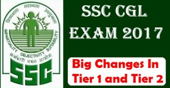 SSC CGL 2017 Changes