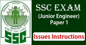 SSC JE 2017 Paper 1 Issues