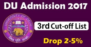 DU Third Cutoff 2017