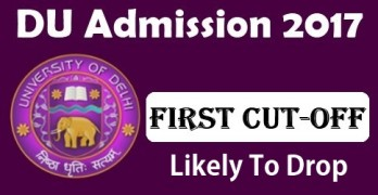 DU First Cutoff 2017