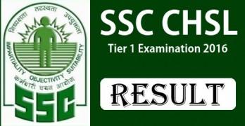 SSC CHSL Tier 1 Results