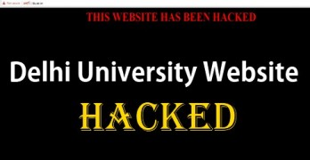 Delhi University Website Hacked