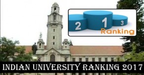 Indian University Ranking 2017