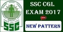 SSC CGL 2017 New Pattern