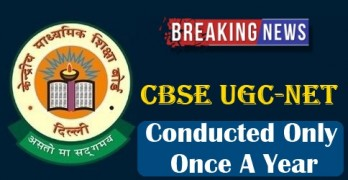 UGC NET Conducted Only Once A Year