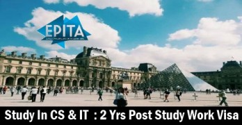 Apply for 2019 In France for CS & IT Programs