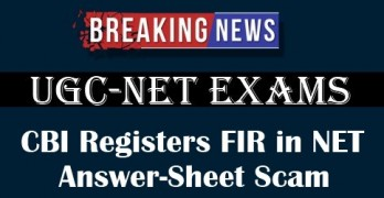 CBI Registers FIR in NET Answer-Sheet Scam