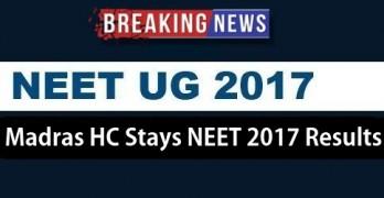 Madras HC stays NEET 2017 results