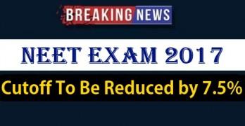 NEET 2017 Cutoff to be Reduced