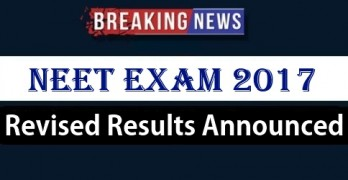 NEET PG Revised Results 2017