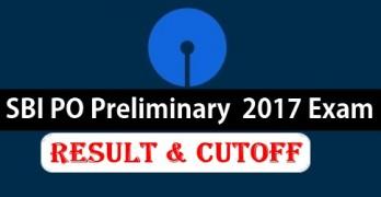 SBI PO Prelims 2017 Results