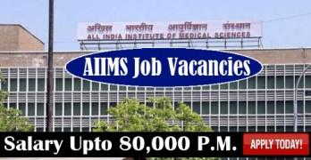 AIIMS Jobs Vacancies
