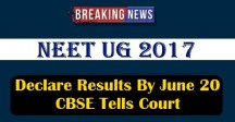 Declare Results By June 20, CBSE Tells Court
