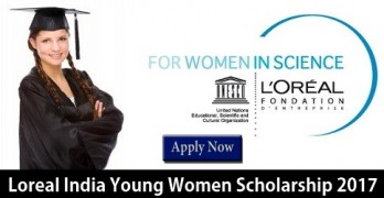 Loreal India Young Women Scholarship