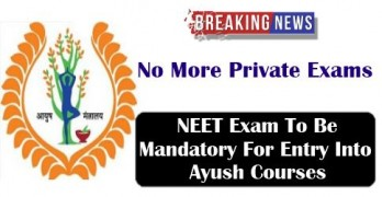 NEET 2017: No More Private Exams