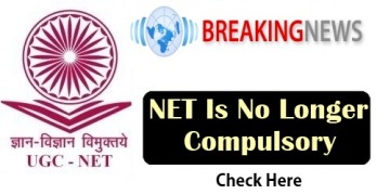 NET Is No Longer Compulsory