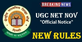 UGC NET NOVEMBER 2017 Change Rules