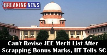 SC Puts Admissions to IITs and NITs