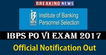 IBPS PO 2017 Notification Released