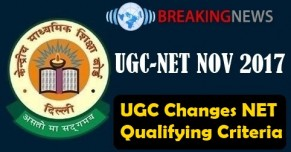 UGC Changes NET Qualifying Criteria