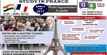 Study In France with Internship
